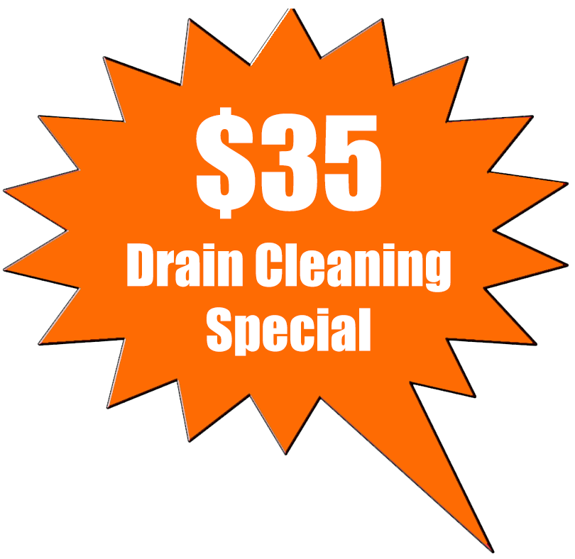 $35 Drain Cleaning Special